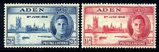 Aden Peace Stamp Issue